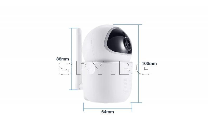Мини подвижна IP камера