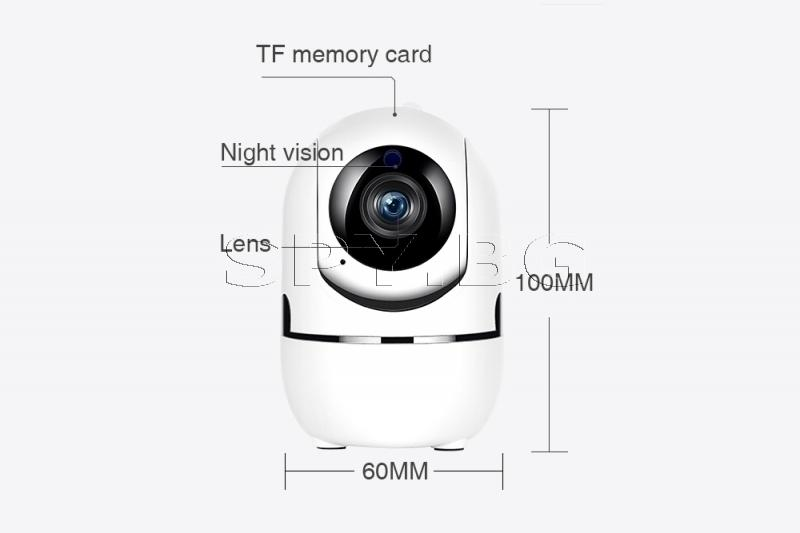 Компактна подвижна IP камера