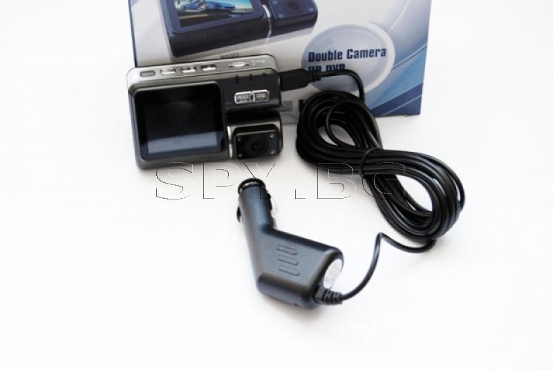 HD Видеорегистратор с две камери