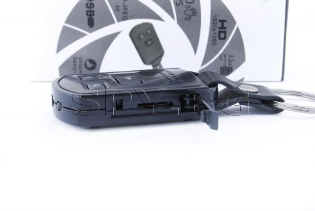 Камера, скрита в дистанционно с IR диоди