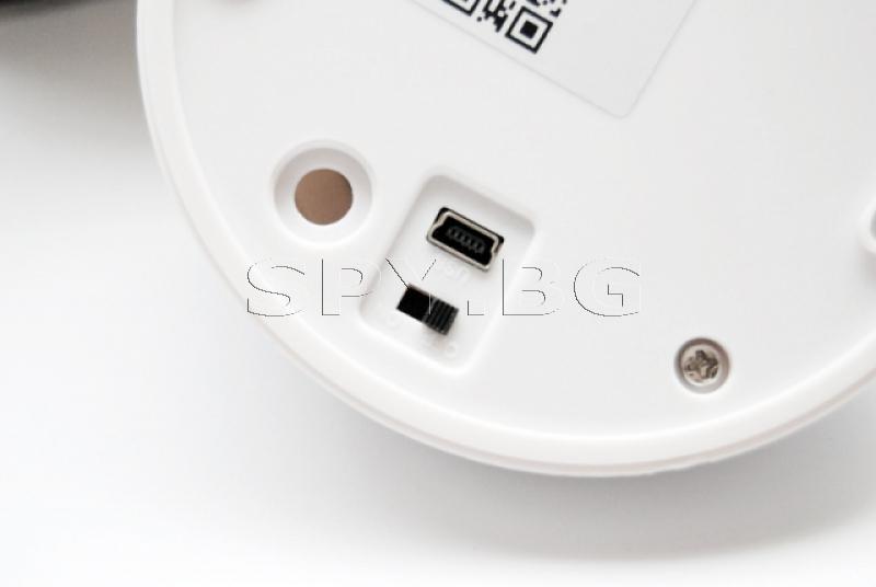 WiFi камера в димен детектор