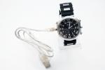 Камера в часовник с гумена каишка