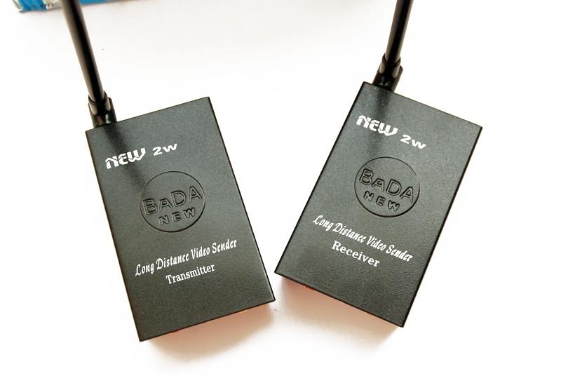 Мощни 2 W безжични приемник и предавател на AV сигнали